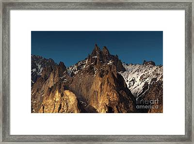 Cathedral Of Passu Framed Print