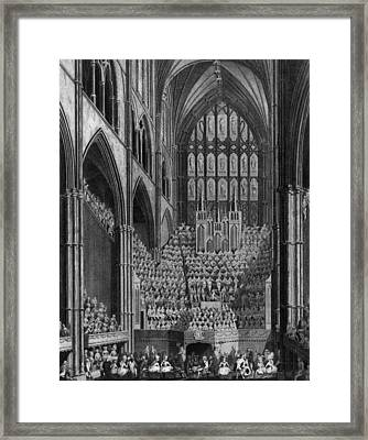 Cathedral Orchestra Framed Print by Hulton Archive