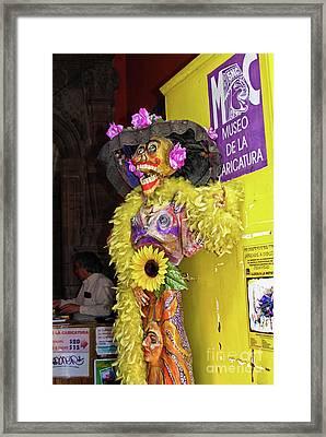 La Catrina Framed Art Prints Fine Art America