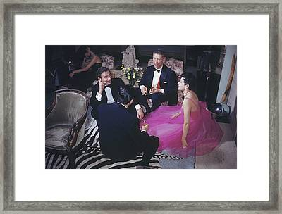 Celebrity Guests Framed Print