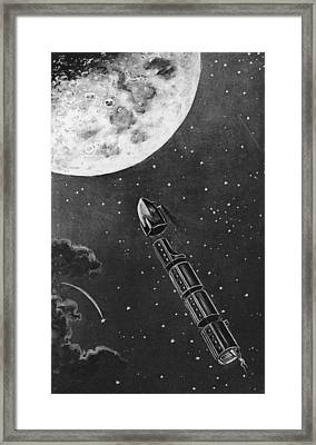 Celestial Travel Framed Print by Hulton Archive