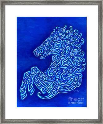 Celtic Horse Framed Print