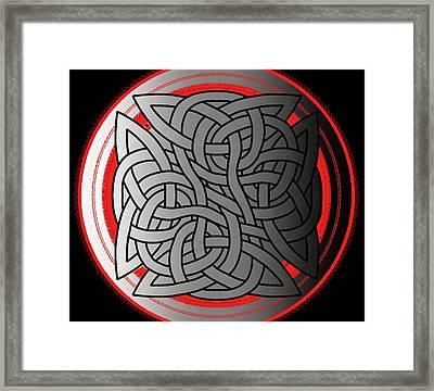 Celtic Shield Knot 4 Framed Print
