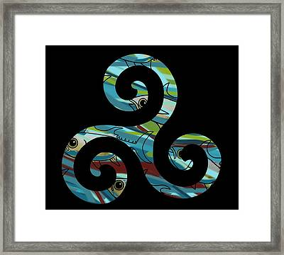 Celtic Spiral 2 Framed Print