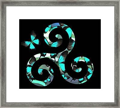 Celtic Spiral 3 Framed Print