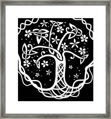 Celtic Tree Of Life 3 Framed Print