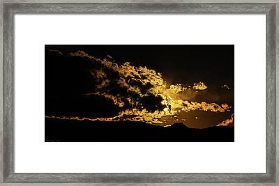 Cerro Pedernal West Framed Print