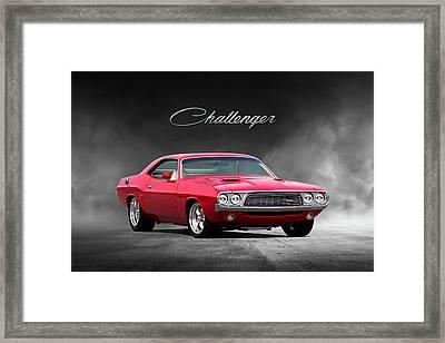 Dodge Challenger Framed Art Prints Fine Art America