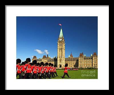 Parliament Hill Framed Prints