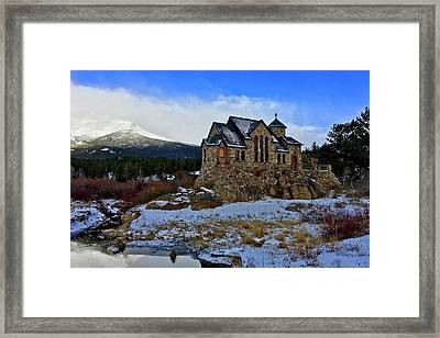 Framed Print featuring the photograph Chapel On The Rock by Dan Miller