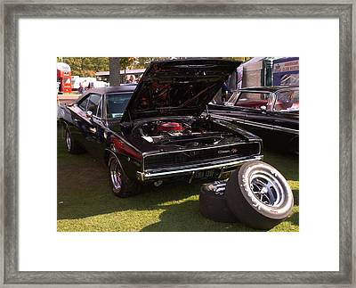 Framed Print featuring the photograph Charger by JLowPhotos