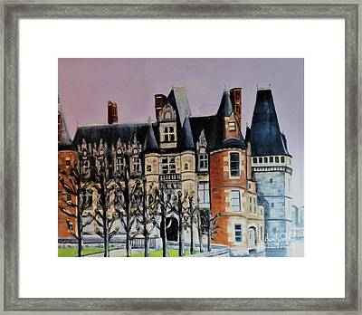 Chateau De Maintenon Framed Print