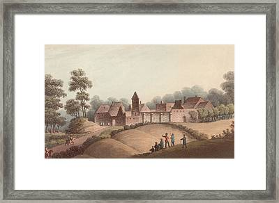 Chateau Dhougoumont Framed Print by Hulton Archive