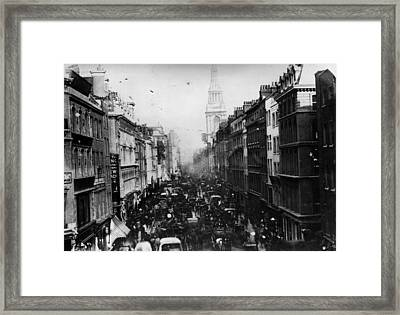 Cheapside Framed Print by General Photographic Agency