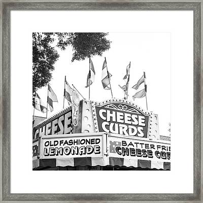 Cheese Curds Framed Print