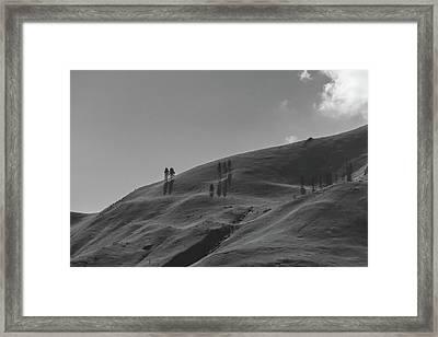 Chelan Mountains Framed Print