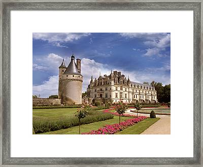 Chenonceaux Chateau Framed Print