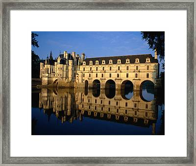 Chenoncou Castle, Designed By Women, In Framed Print