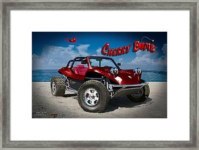 Cherry Bomb Framed Print