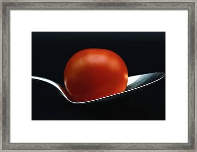Cherry Tomato Framed Print