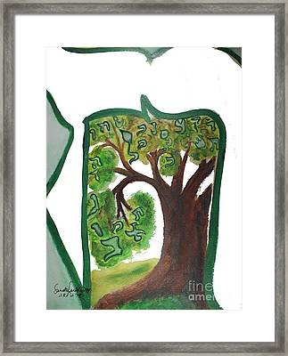 Chet, Tree Of Life  Ab21 Framed Print