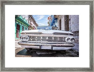 Chevrolet Impala In Havana Framed Print