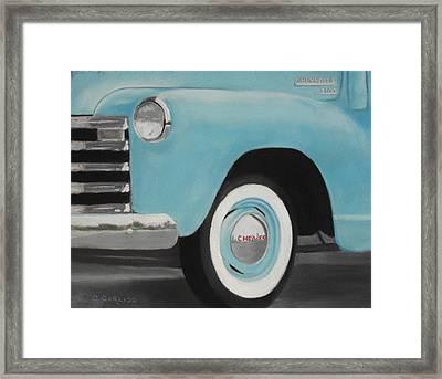 Chevy Truck 3100 Framed Print