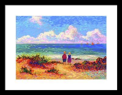 Big Island Paintings Framed Prints