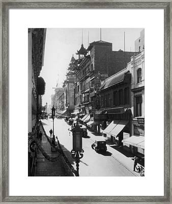 Chinatown Framed Print by Hulton Archive