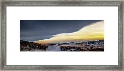 Chinook Arch Framed Print