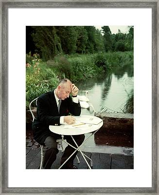 Christian Dior In France In The 1950s - Framed Print by Kammerman