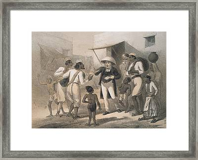 Christian Missionary Framed Print by Hulton Archive