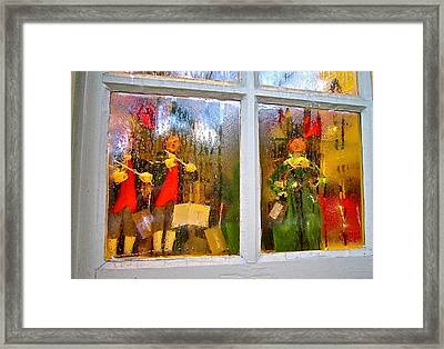 Christmas Chorale Framed Print
