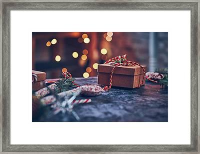 Christmas Pesent Framed Print