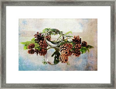 Framed Print featuring the photograph Christmas Thoughts by Randi Grace Nilsberg