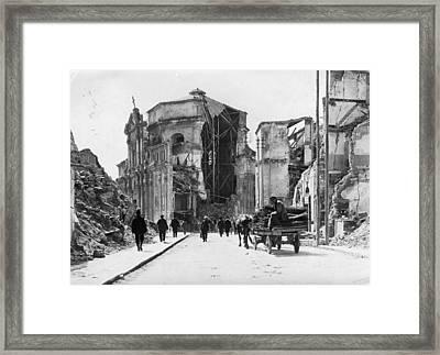 Church Ruins Framed Print by Hulton Archive