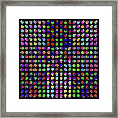 Circle And Square Phi Framed Print