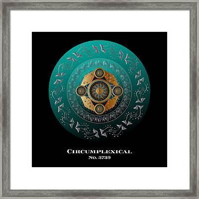 Circumplexical No 3739.1 Framed Print