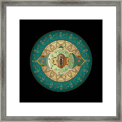 Circumplexical No 3838 Framed Print