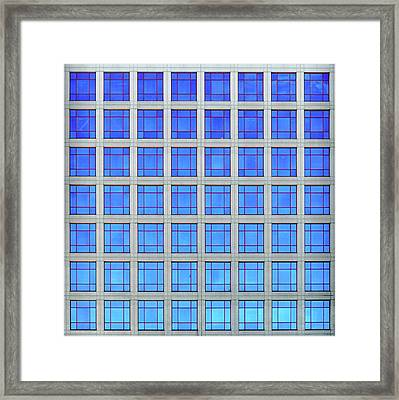 City Grids 60 Framed Print