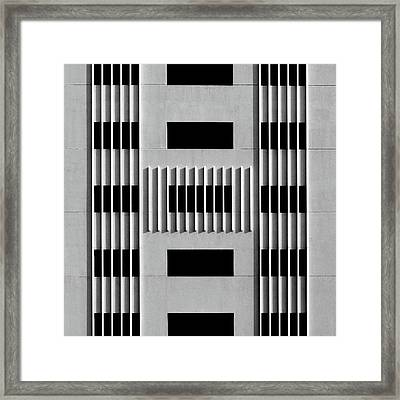 City Grids 64 Framed Print