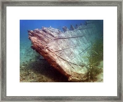 City Of Grand Rapids Shipwreck Ontario Canada 8081801c Framed Print