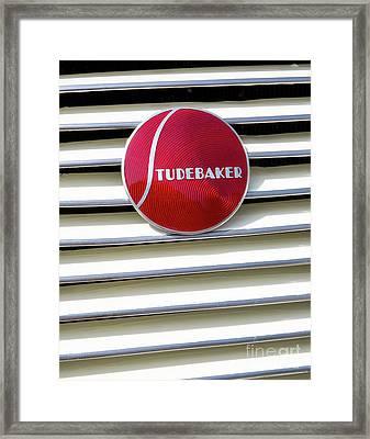 Classic Studebaker Logo Framed Print