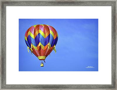 Clear Sailing Framed Print