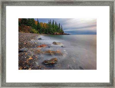 Framed Print featuring the photograph Clearing Storm At Owl's Head by Rick Berk