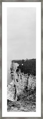 Cliff Climbers Framed Print by Alfred Hind Robinson