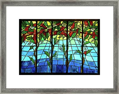 Climbing Vines Framed Print