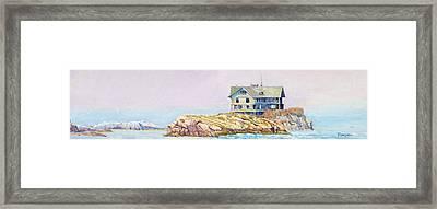 Clingstone Framed Print