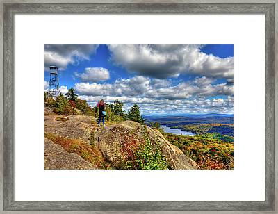 Framed Print featuring the photograph Close To Heaven On Earth by David Patterson