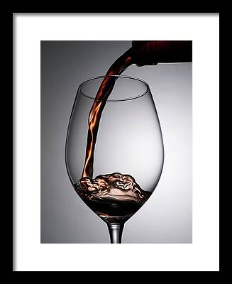 Shot Glass Framed Prints